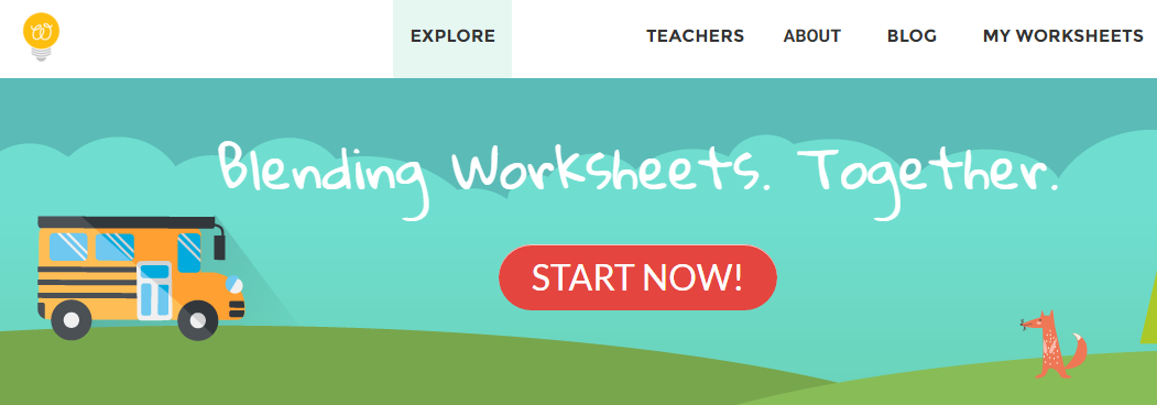 worksheet homepage