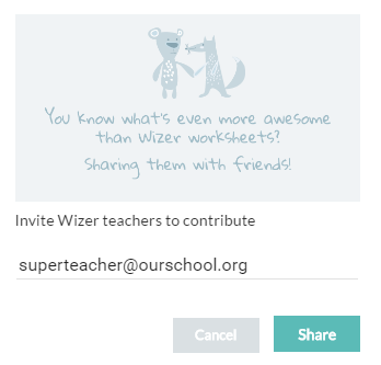 Invite Teachers to Shared Folder